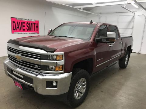 Pre-Owned 2015 Chevrolet Silverado 2500 LTZ Crew Cab Short Box
