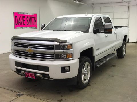 Pre-Owned 2015 Chevrolet Silverado 2500 High Country Crew Cab Long Box