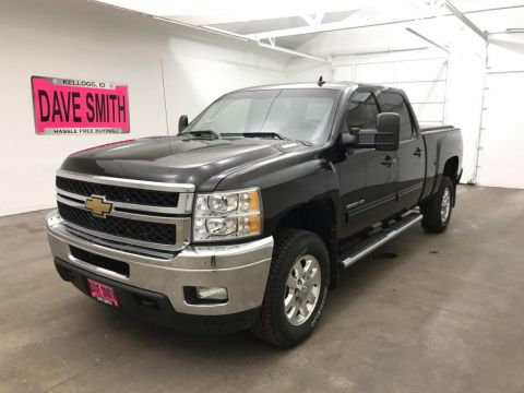 Pre-Owned 2012 Chevrolet Silverado 2500 LTZ Crew Cab Short Box