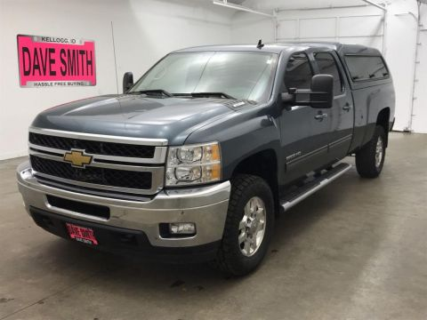 Pre-Owned 2013 Chevrolet Silverado 2500 LTZ Crew Cab Long Box