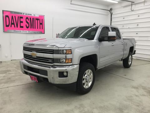 Pre-Owned 2015 Chevrolet Silverado 3500 LTZ Crew Cab Short Box
