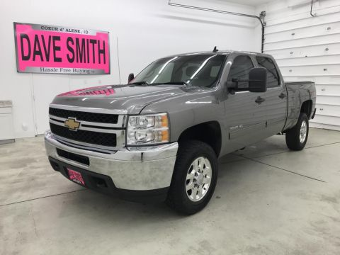 Pre-Owned 2014 Chevrolet Silverado 3500 LT Crew Cab Short Box