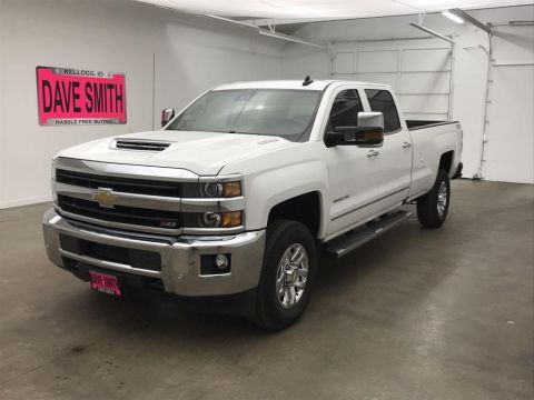 Pre-Owned 2018 Chevrolet Silverado 3500 LTZ Crew Cab Long Box