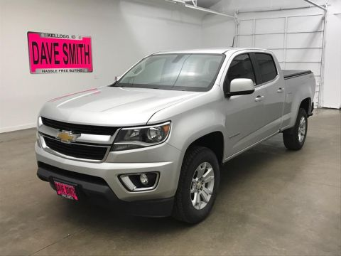 Pre-Owned 2015 Chevrolet Colorado LT Crew Cab Short Box