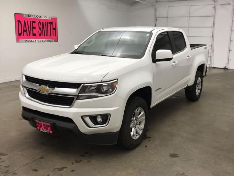 Pre-Owned 2019 Chevrolet Colorado LT Crew Cab Short Box
