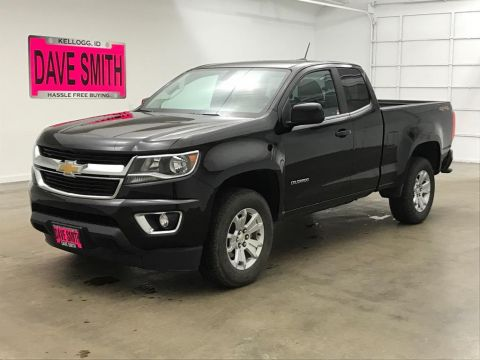 Pre-Owned 2018 Chevrolet Colorado LT Extended Cab Short Box