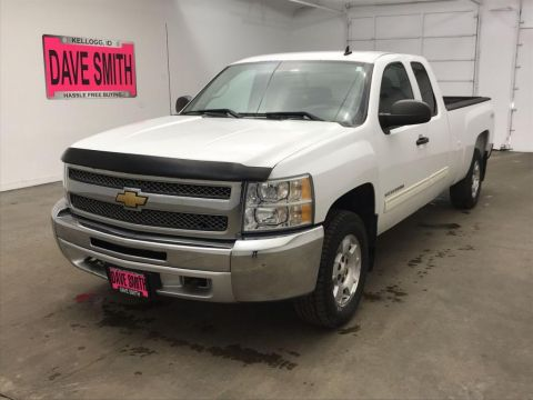 Pre-Owned 2013 Chevrolet Silverado 1500 LT Extended Cab Long Box