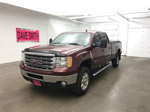 Pre-Owned 2013 GMC Sierra 2500 SLE Crew Cab Long Box