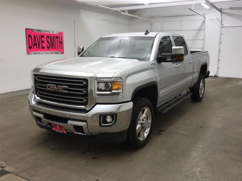 Pre-Owned 2016 GMC Sierra 2500 SLT Crew Cab Short Box