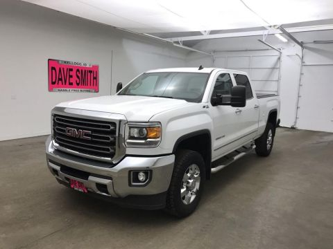 Pre-Owned 2015 GMC Sierra 2500 SLT Crew Cab Short Box