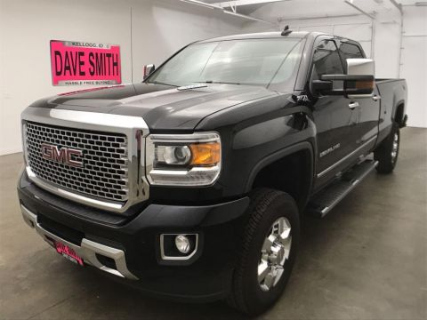 Pre-Owned 2016 GMC Sierra 3500 Denali Crew Cab Long Box