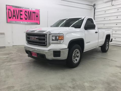 Pre-Owned 2015 GMC Sierra 1500 Regular Cab Long Box