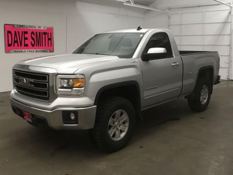 Pre-Owned 2014 GMC Sierra 1500 SLE Regular Cab Short Box