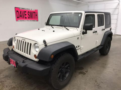 Pre-Owned 2008 Jeep Wrangler Unlimited Unlimited X