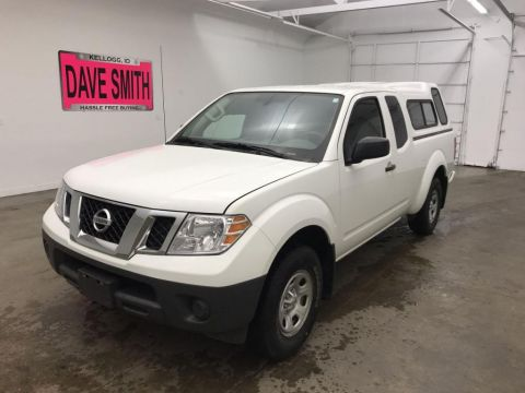 Pre-Owned 2018 Nissan Frontier Extended Cab Short Box
