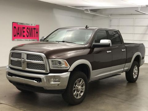 Pre-Owned 2014 Ram 3500 Laramie Crew Cab Short Box