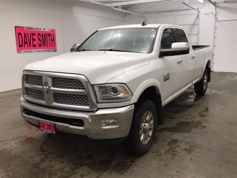 Pre-Owned 2014 Ram 3500 Laramie Crew Cab Long Box
