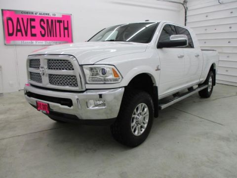 Pre-Owned 2014 Ram 3500 Laramie Mega Cab Short Box