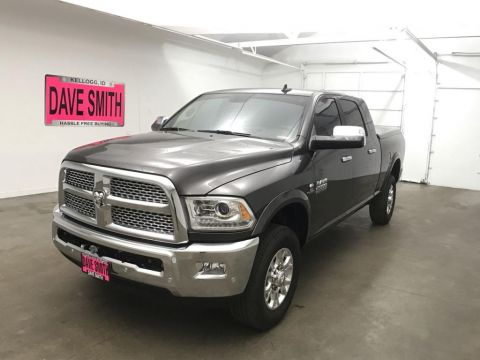 Pre-Owned 2018 Ram 2500 Laramie Mega Cab Short Box