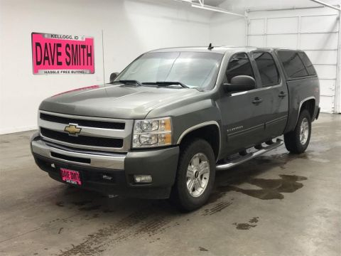 Pre-Owned 2011 Chevrolet Silverado 1500 LT Crew Cab Short Box