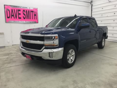 Pre-Owned 2016 Chevrolet Silverado 1500 LT Crew Cab Short Box
