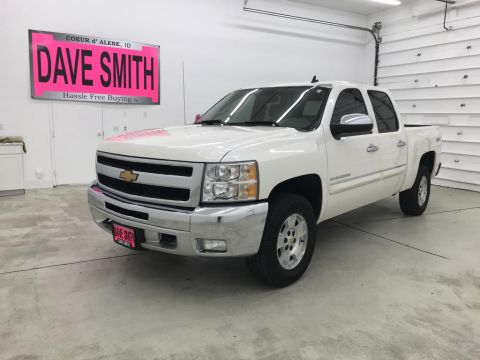 Pre-Owned 2012 Chevrolet Silverado 1500 LT Crew Cab Short Box