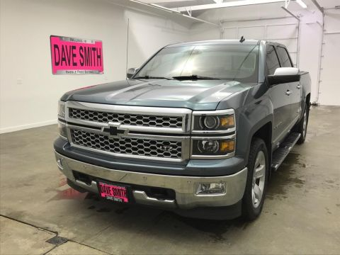 Pre-Owned 2014 Chevrolet Silverado 1500 LTZ Crew Cab Short Box
