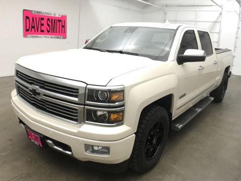 Pre-Owned 2015 Chevrolet Silverado 1500 High Country Crew Cab Short Box