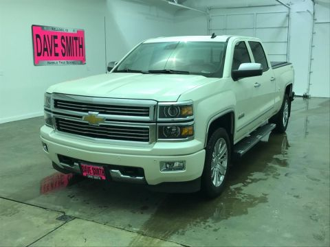 Pre-Owned 2014 Chevrolet Silverado 1500 High Country Crew Cab Short Box