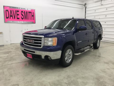 Pre-Owned 2013 GMC Sierra 1500 SLT Crew Cab Short Box