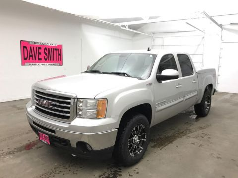 Pre-Owned 2010 GMC Sierra 1500 SLT Crew Cab Short Box