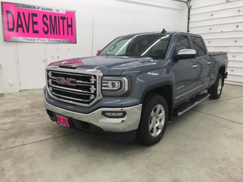 Pre-Owned 2016 GMC Sierra 1500 SLT Crew Cab Short Box