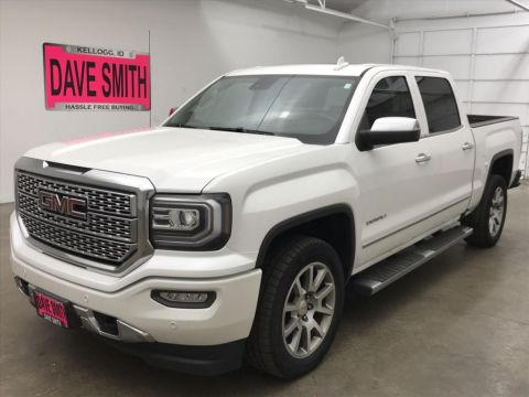 Pre-Owned 2018 GMC Sierra 1500 Denali Crew Cab Short Box