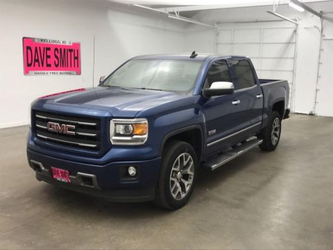 Pre-Owned 2015 GMC Sierra 1500 SLE Crew Cab Short Box