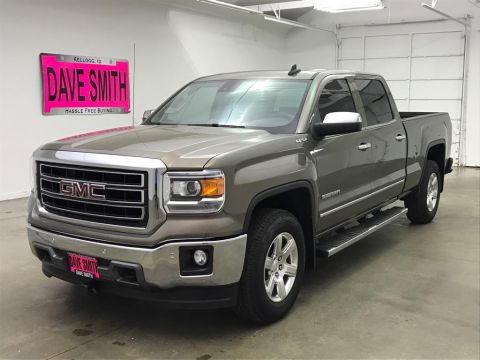 Pre-Owned 2015 GMC Sierra 1500 SLT Crew Cab Short Box