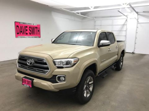 Pre-Owned 2017 Toyota Tacoma Limited Crew Cab Short Box