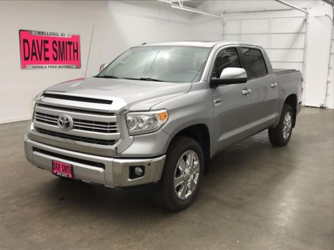 Pre-Owned 2015 Toyota Tundra Platinum Crew Cab Short Box