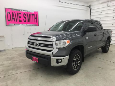 Pre-Owned 2017 Toyota Tundra TRD Crew Max Short Box